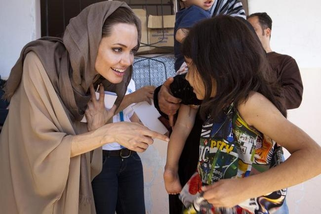 Angelina Jolie's Humanitarian Avatar
