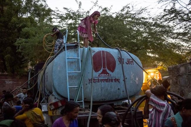 Delhi Struggles with Water Shortage