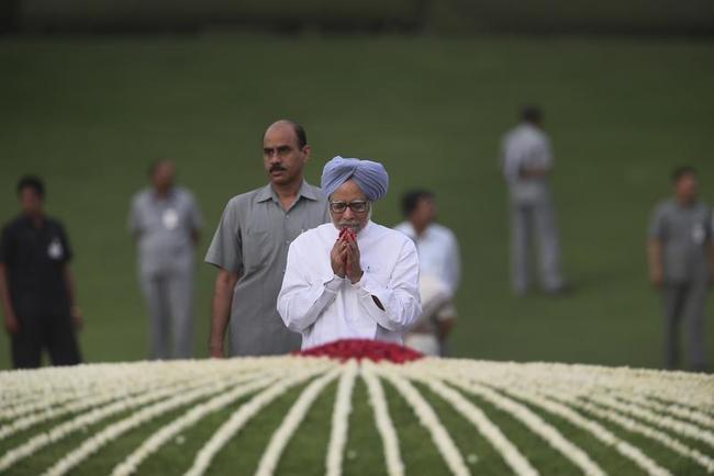Paying tribute on Jawaharlal Nehru