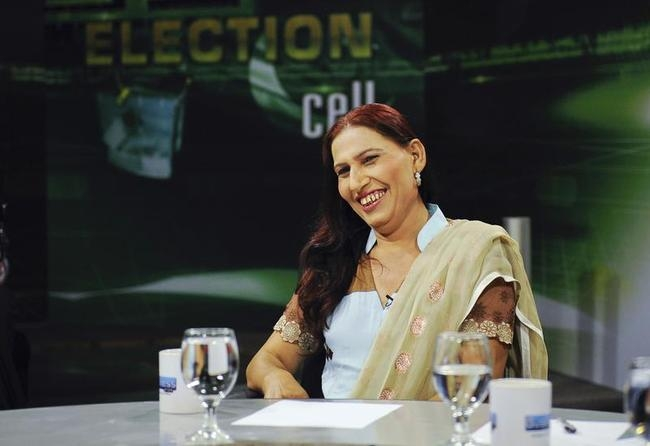 Bindia Rana- a transgender independent candidate from Pakistan
