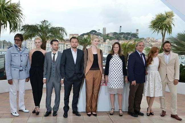 The Great Gatsby photocall at Cannes