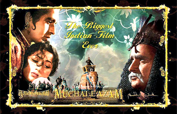 Mughal-E-Azam - A film doesn't hold a record of being one of the highest grossing films of Bollywood for 15 years straight, for nothing. Yes, that's Mughal-E-Azam - story of prince Salim and courtesan Anarkali's unfulfilled love. The film is a milestone in Indian celluloid, where it's cinematic quality, grandeur, attention to detail and cinematography is still talked about.