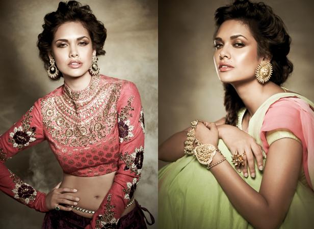 Esha Gupta's Filmfare photoshoot  Courtesy: Filmfare