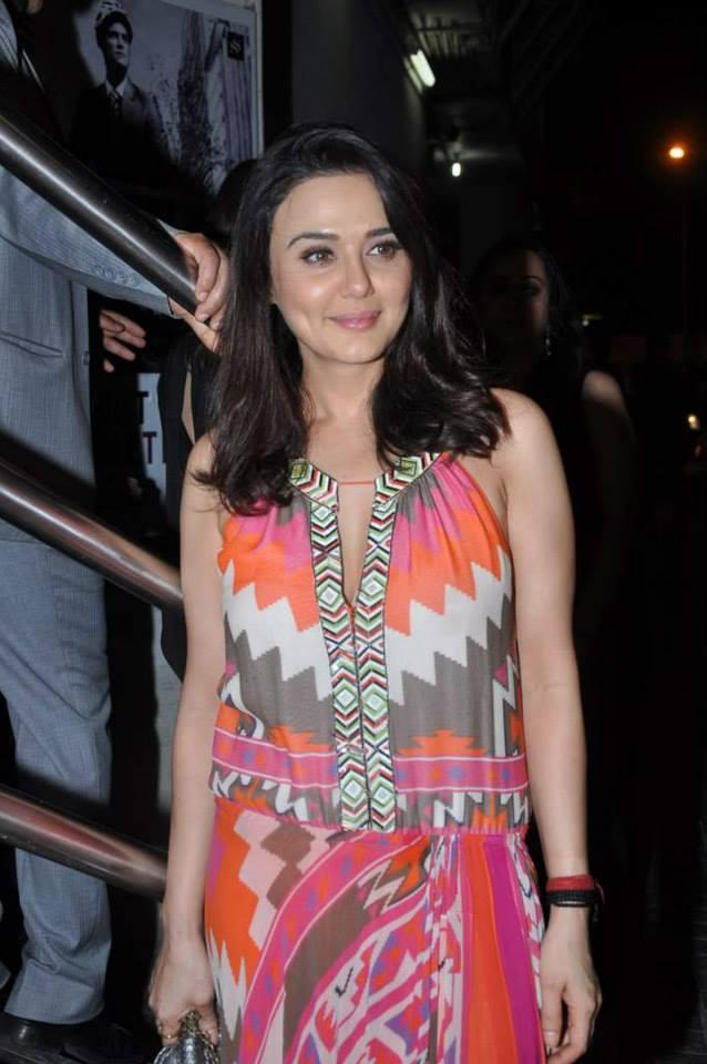 Preity Zinta  Courtesy: CCL Media