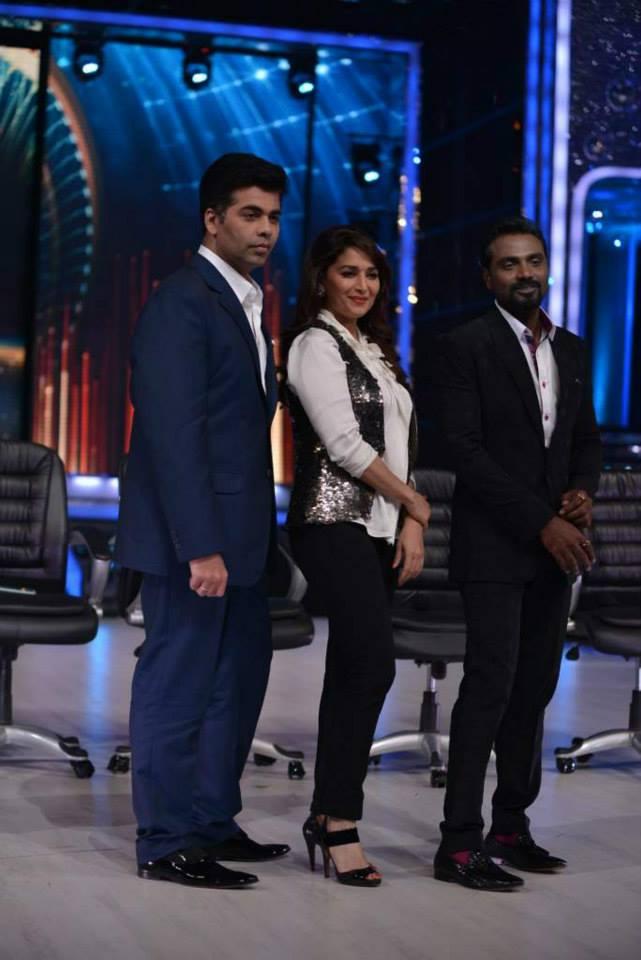 Karan Johar, Madhuri Dixit, Remo D'Souza