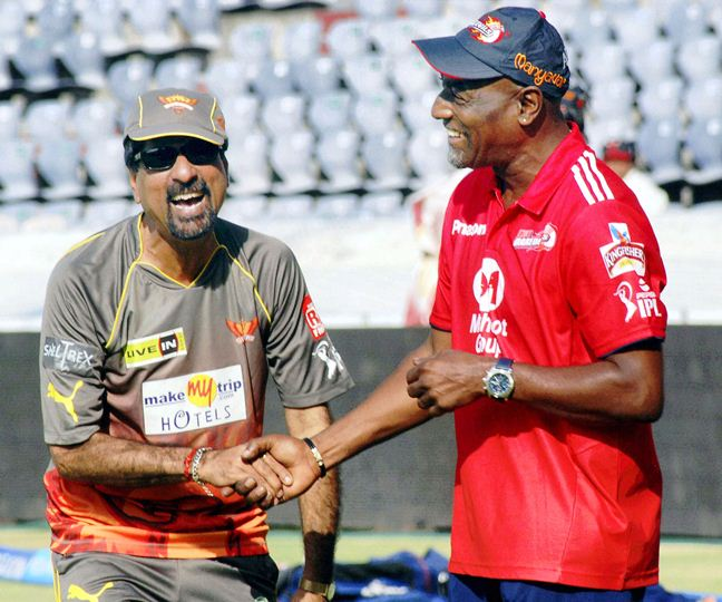 Krishnamachari Srikkanth and Viv Richards