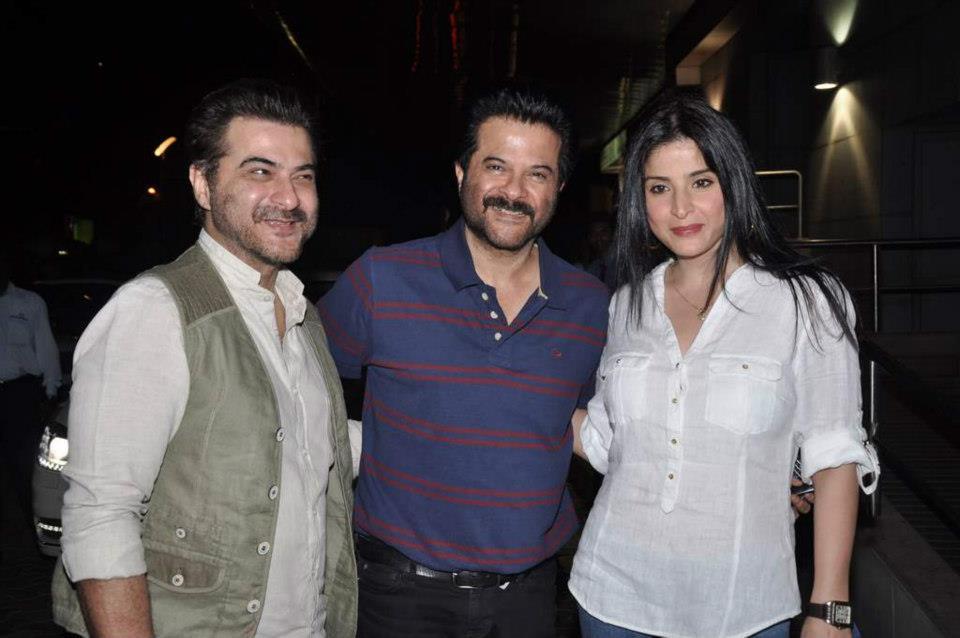 Sanjay Kapoor, Anil Kapoor, Maheep