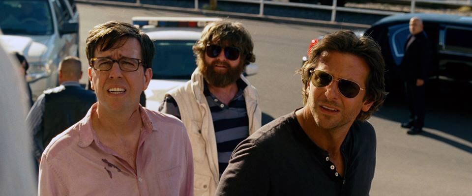 Ed Helms, Zach Galifianakis, Bradley Cooper