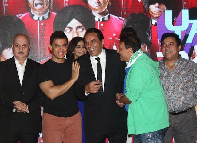 Aamir Khan, Dharmendra