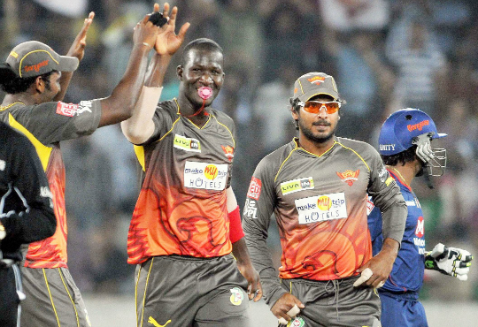 Sunrisers Hyderabad bowler D Sammy