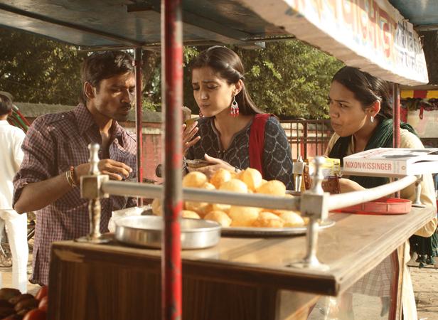 Sonam Kapoor, Dhanush  Courtesy Filmfare