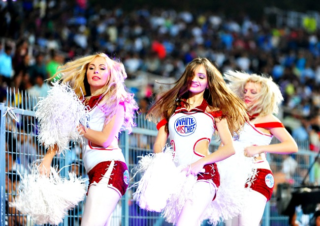 Cheerleaders at IPL