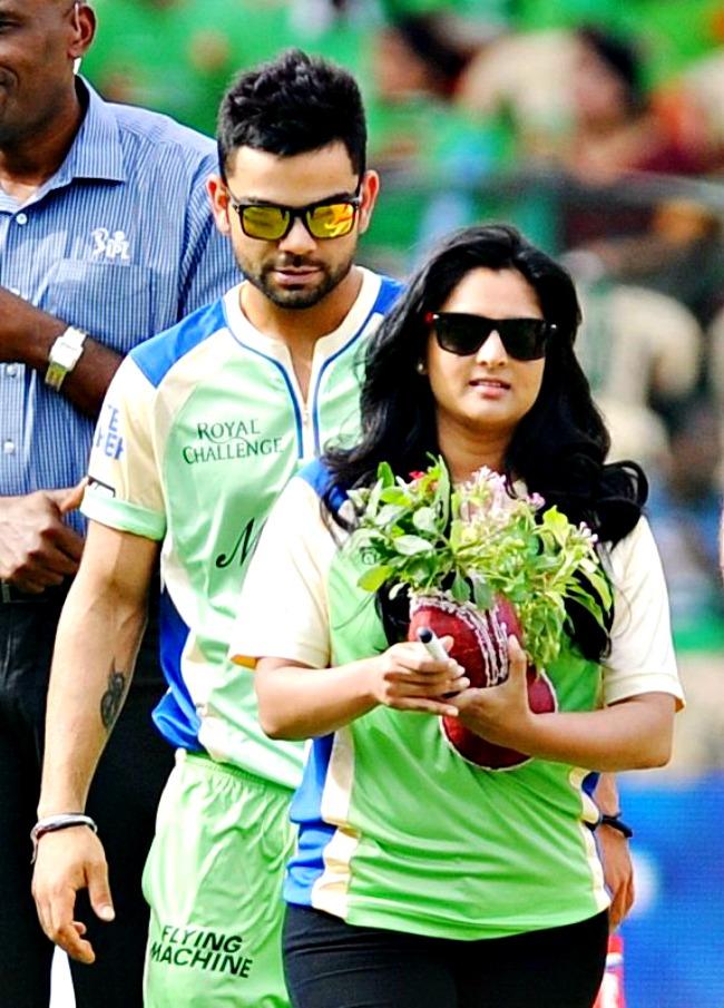 Virat Kohli and Ramya