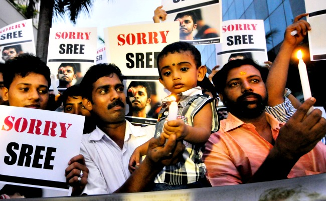 There are many, who still feel that Sreesanth has been framed. (Photo: BCCL)