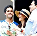 Siddharth Mallya, Preity Zinta and Rajeev Shukla
