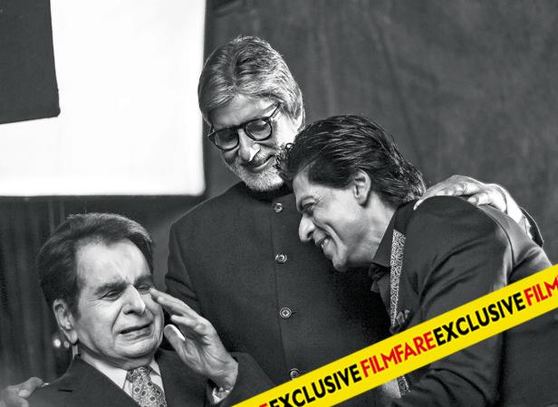 Dilip Kumar, Amitabh Bachchan and Shah Rukh Khan