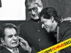 Dilip Kumar, Amitabh Bachchan and Shah Rukh Khan