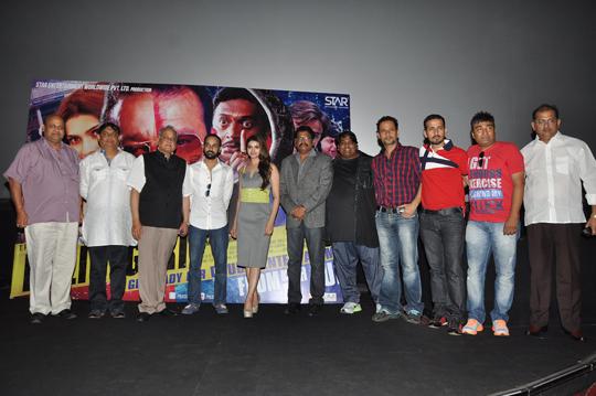 Prachi Desai with film's cast and crew