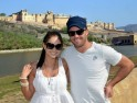 Mr And Mrs Ab De Villers took a short romantic break and spent some couple time in Rajasthan