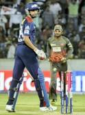 Delhi Daredevils batsman A Nehra