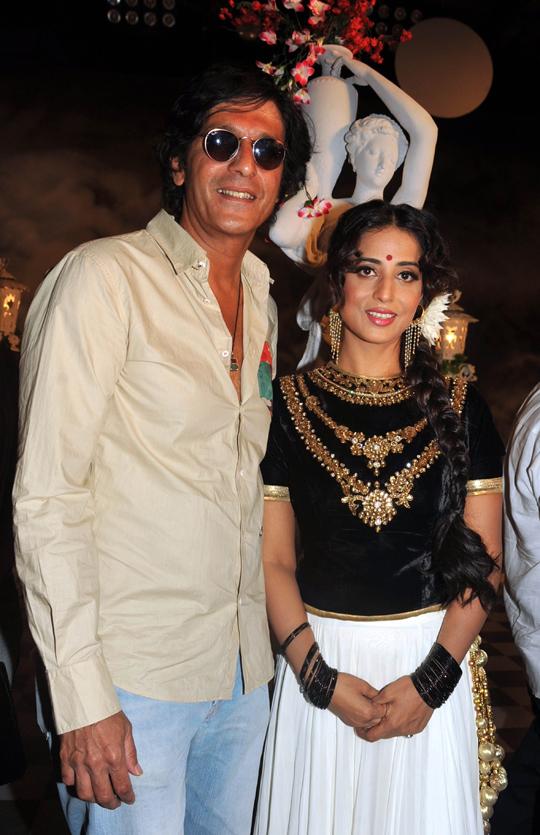 Chunkey Pandey, Mahie Gill