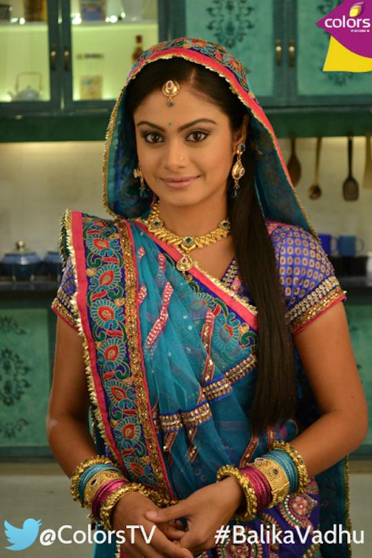Toral Rasputra as Anandi of Balika Vadhu