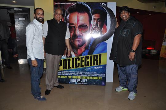 Film's producers TP Aggarwal & Rahul Aggarwal, and choreographer Ganesh Acharya