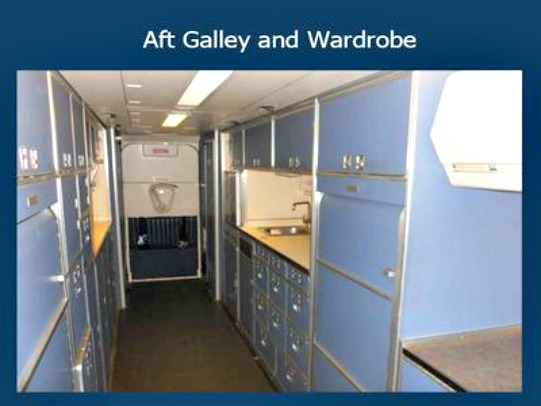 Aft Galley and Wardrobe