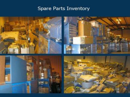 Spare parts inventory