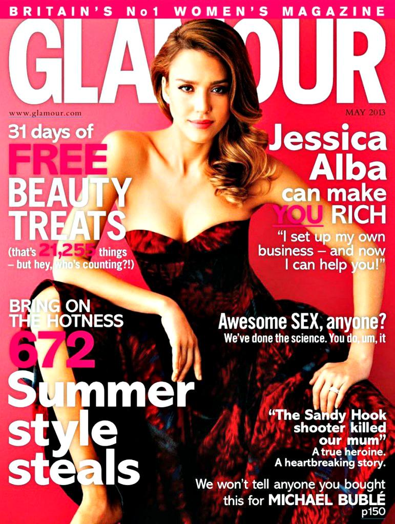 American actress Jessica Alba