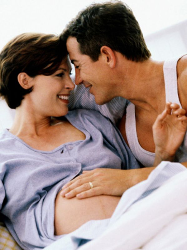 Can we have oral sex while I'm pregnant?
