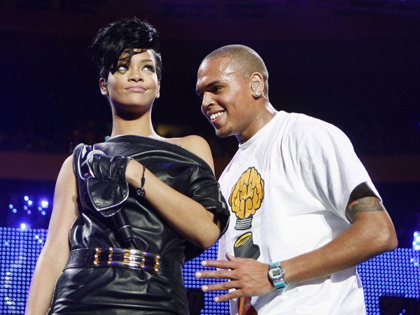 Chris Brown hit Rihanna