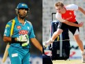 Luke Wright and Yuvraj Singh