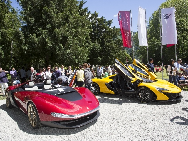Aside from the ultra-exclusive line-up of historical cars, the Concorso d'Eleganza Villa d'Este 2013 in Italy also had on show six concept vehicles, each representing their own distinctive perspective on forward-thinking automotive design.