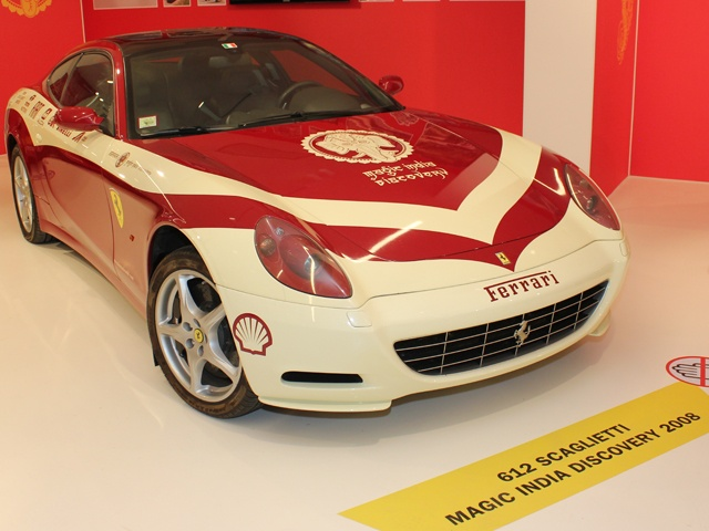 Ferrari 612 Scaglietti, Magic India Discovery 2008