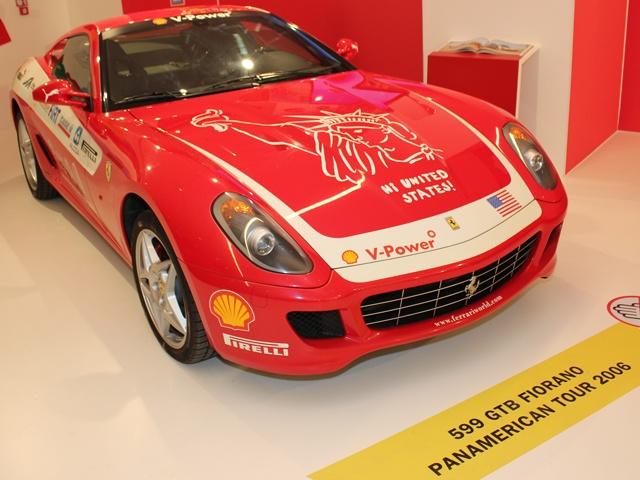 Ferrari 599 GTB Fiorano, Panamerican Tour 2006