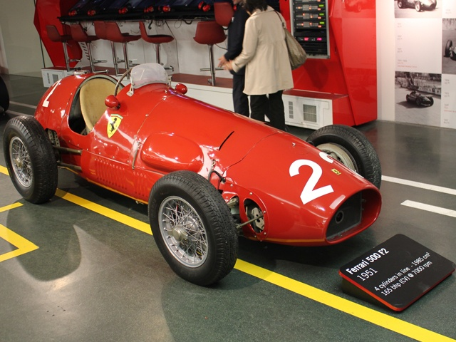 Originally opened in 1990, Museo Ferrari is the only official Ferrari Museum managed by the company itself