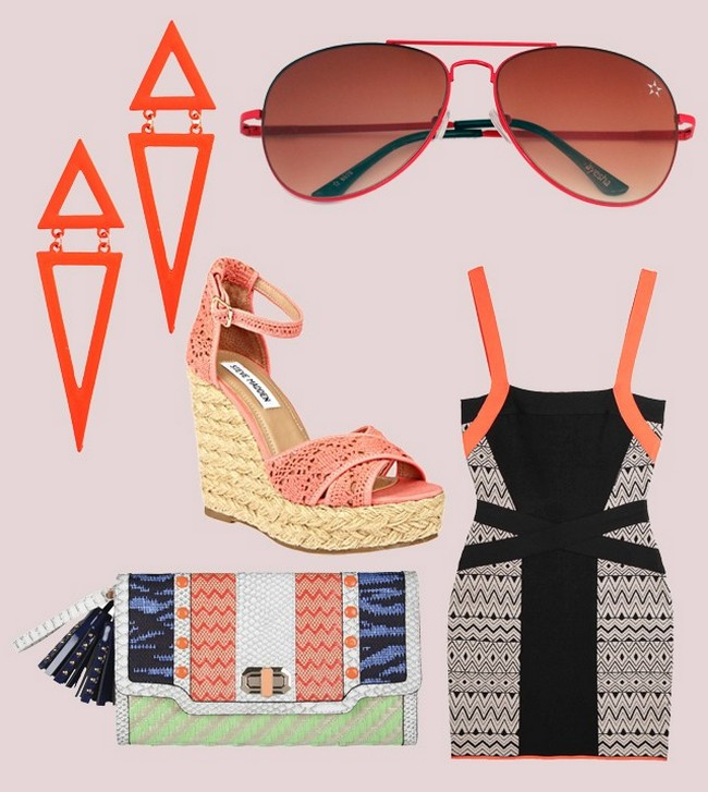 Venture into Aztec territory this season. Presenting different ways to carry the unique prints!