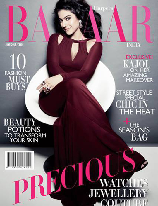 Kajol on Harper's Bazaar