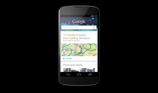 LG Google Nexus 4 comes with a 4.5-inchWXGA IPS display with Corning Gorilla Glass 2.