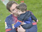 PICS: Barcelona Celebrate La Liga Title with Kids