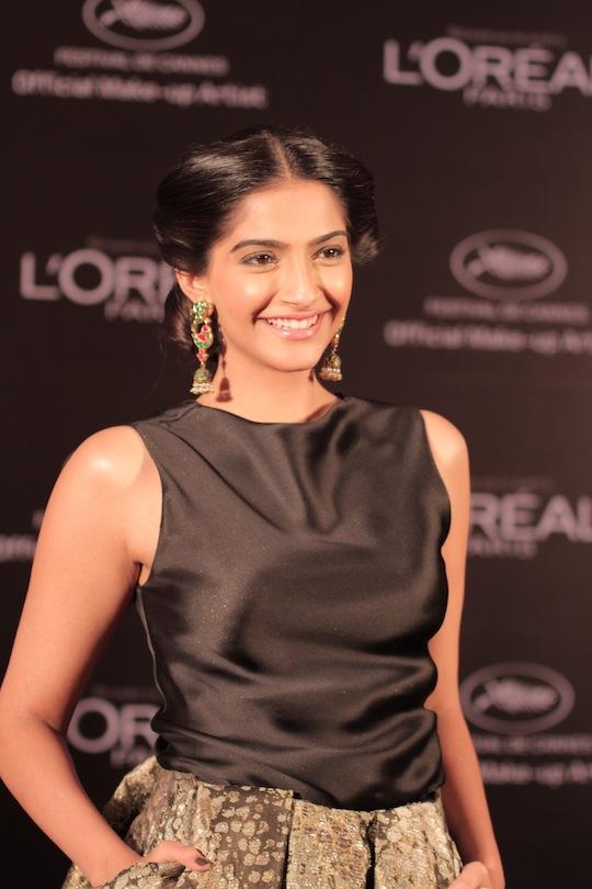 Speaking on her visit Sonam says,