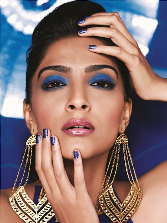 The Cannes look has been created by beauty expert Namrata Soni. She says,