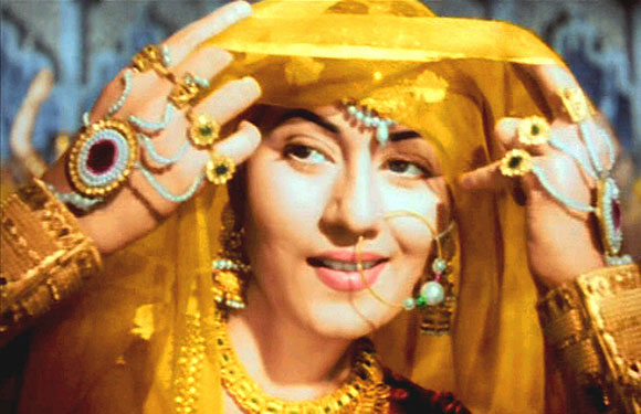 Madhubala - Madhubala ruled hearts of millions with her performance in movies like Mughal-e-Azam, Howrah Bridge and Mr and Mrs 55. She died a lonely death with no one at her side with no one to look after her in her final days. Her marble tomb was adorned with 'aayats' and verse dedications from the Quran but even her final resting place was uprooted in 2010 to make way for newer graves.