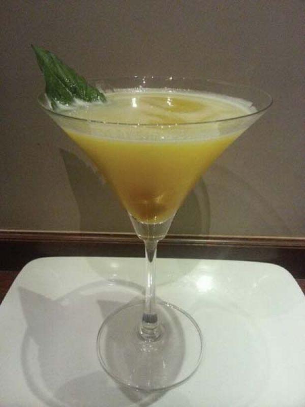 Mango & Basil Martini