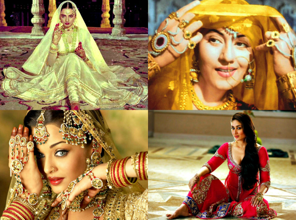 The grace of a peacock, the beauty of a rose and the voice of a nightingale – the Lacknavi salon culture asked a lot of the courtesans. Here we have the top 10 actresses of Bollywood who would have been perfect for that era, given their excellent performances in the mujra numbers in films over the years.