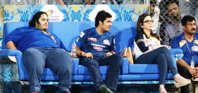 Anant, Neeta Ambani and Akash