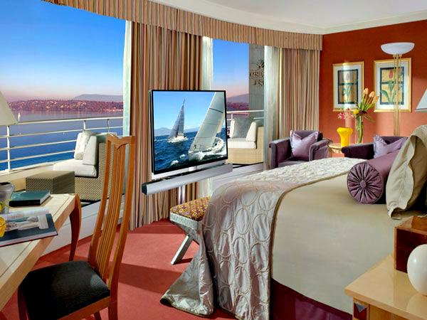 Royal Penthouse Suite, Hotel President Wilson, Geneva
