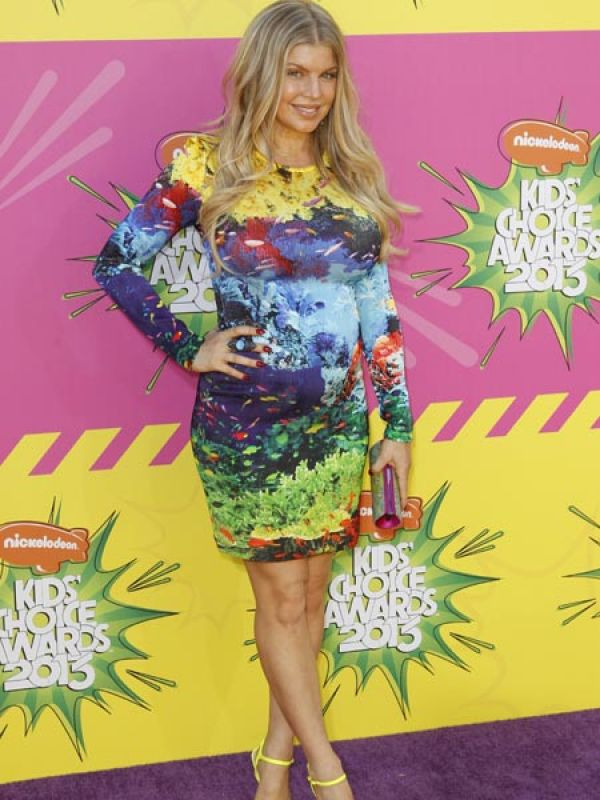 Fergie: The Black Eyed Peas singer is expecting her first child with Transformers star husband Josh Duhamel.