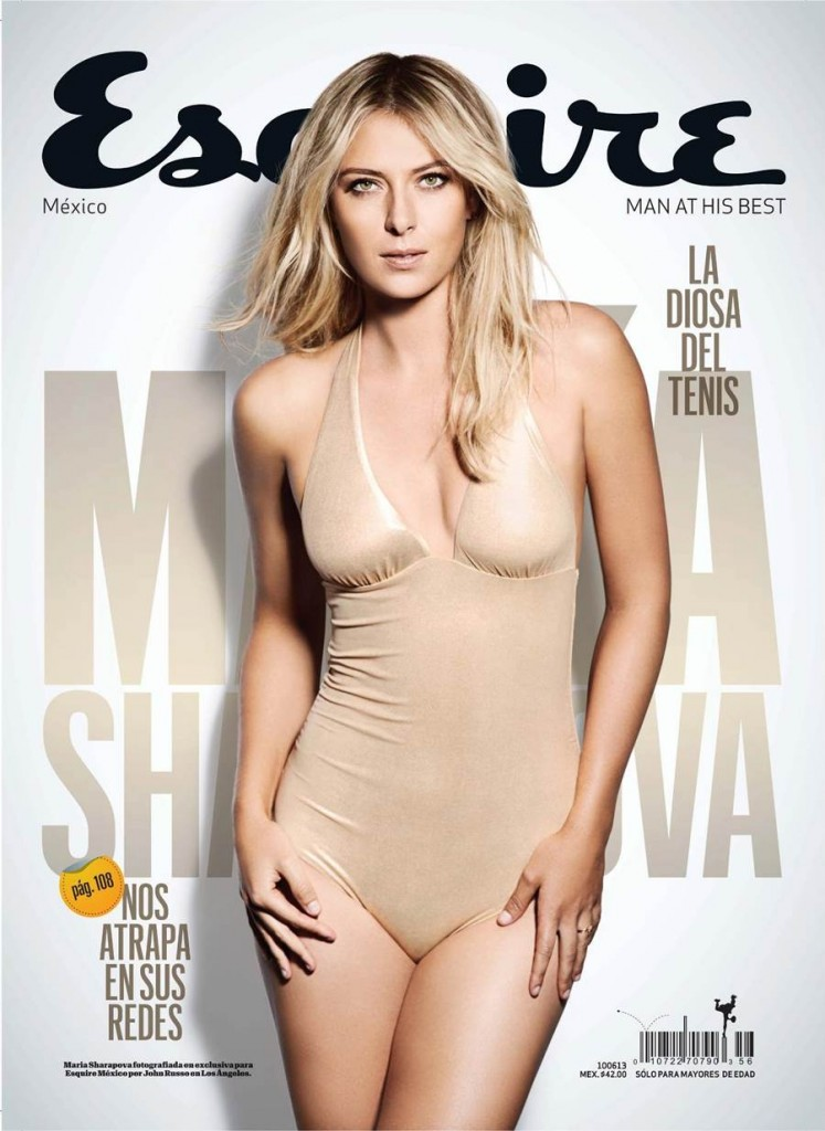 Russian model and Tennis star Maria Sharapova